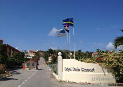 01 ingang Royal Palm Resort